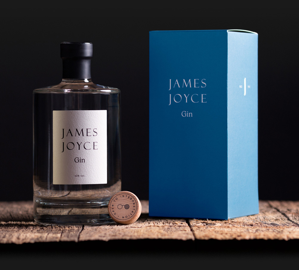 James Joyce Irish Gin